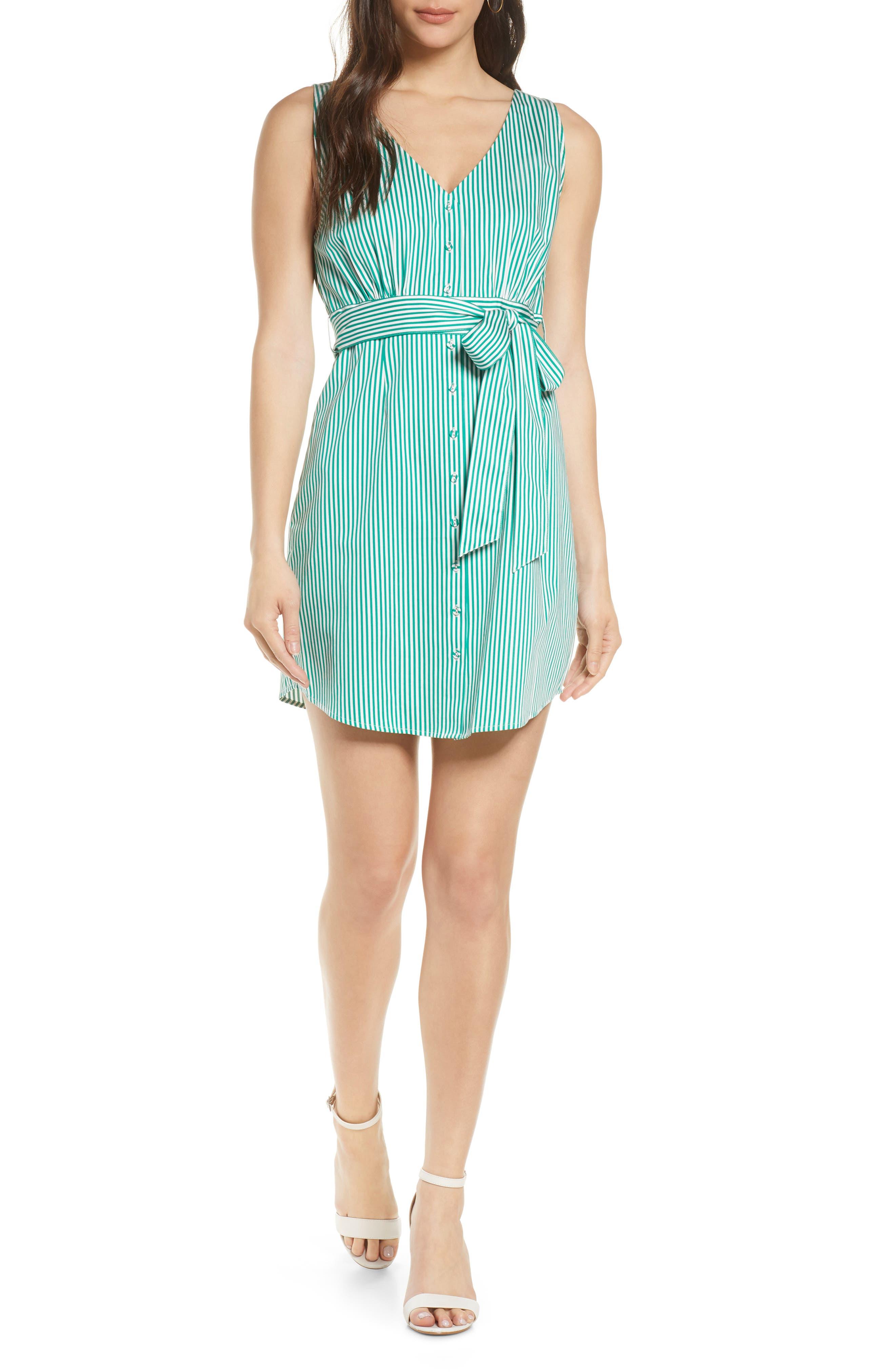 Image of BB Dakota Yarn Dye Stripe Dress