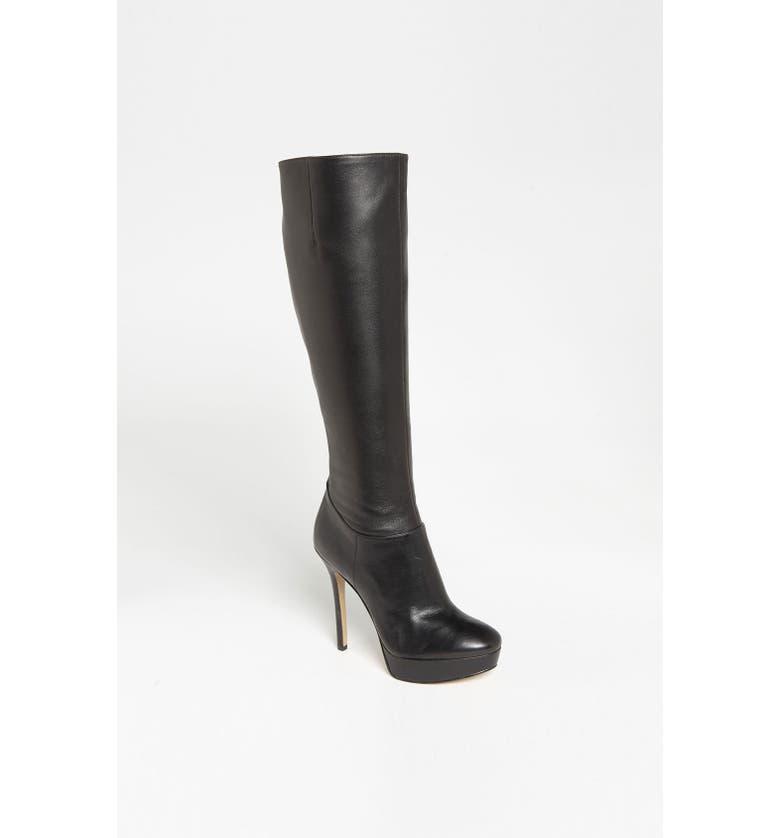 NINE WEST 'Fullblast' Tall Boot, Main, color, 001