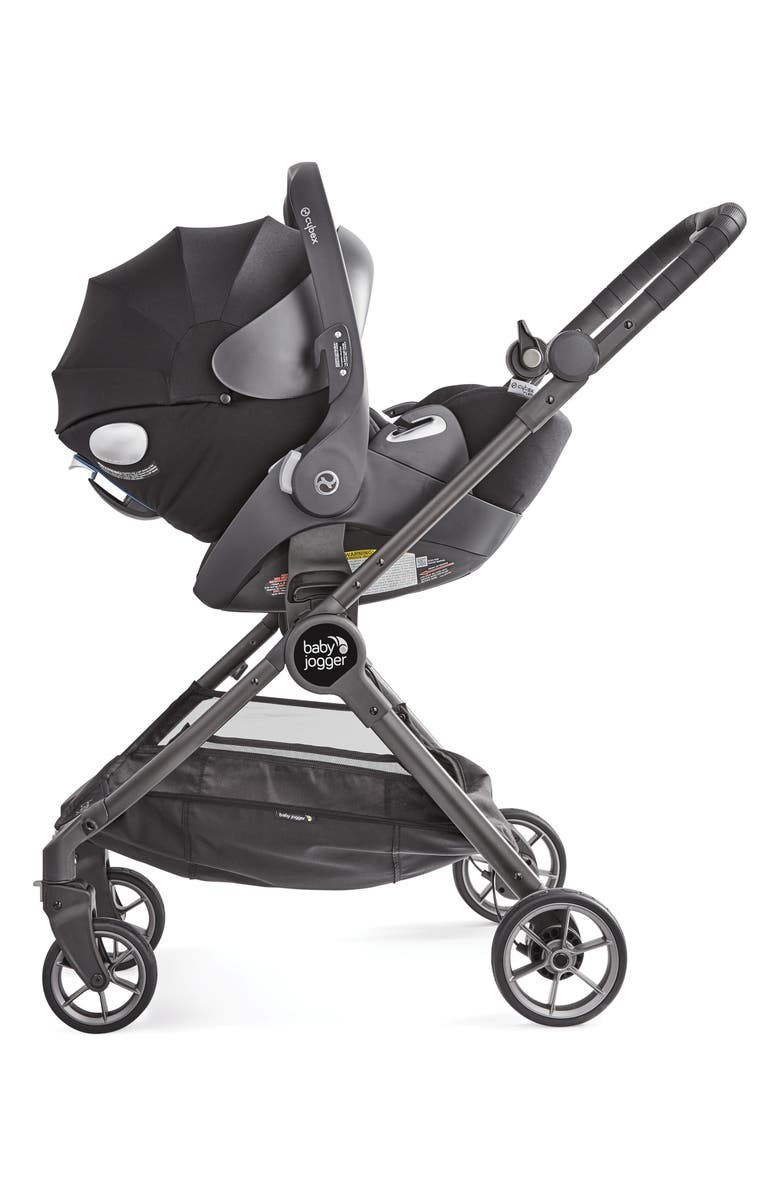 BABY JOGGER City Tour<sup>™</sup> LUX to Maxi-Cosi<sup>®</sup> & Cybex Car Seat Adapter, Main, color, BLACK