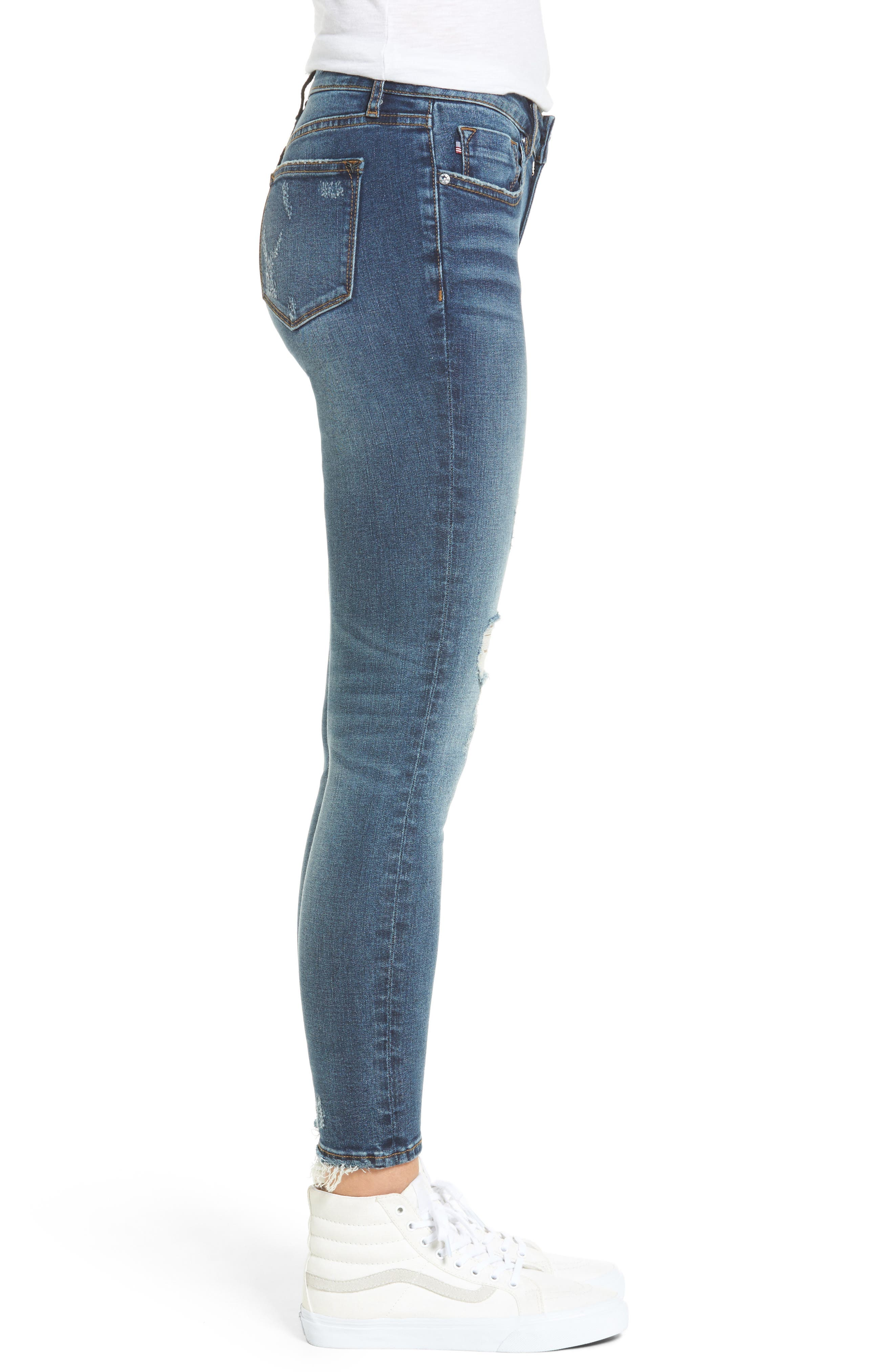 ,                             Jagger Ripped Skinny Jeans,                             Alternate thumbnail 3, color,                             400