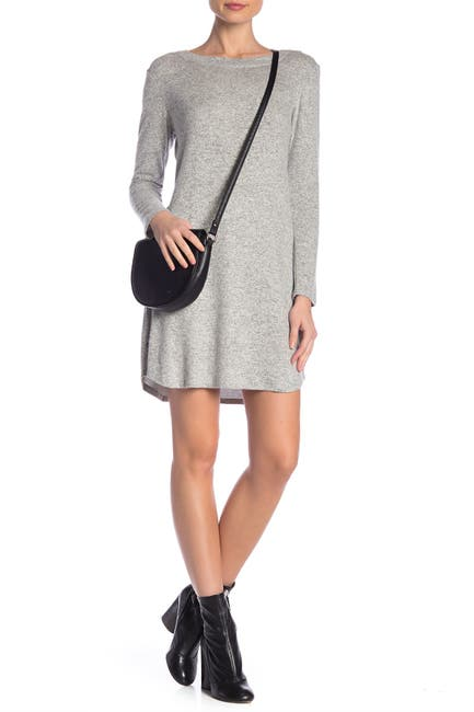 Image of TASH + SOPHIE Heathered Sweater Dress