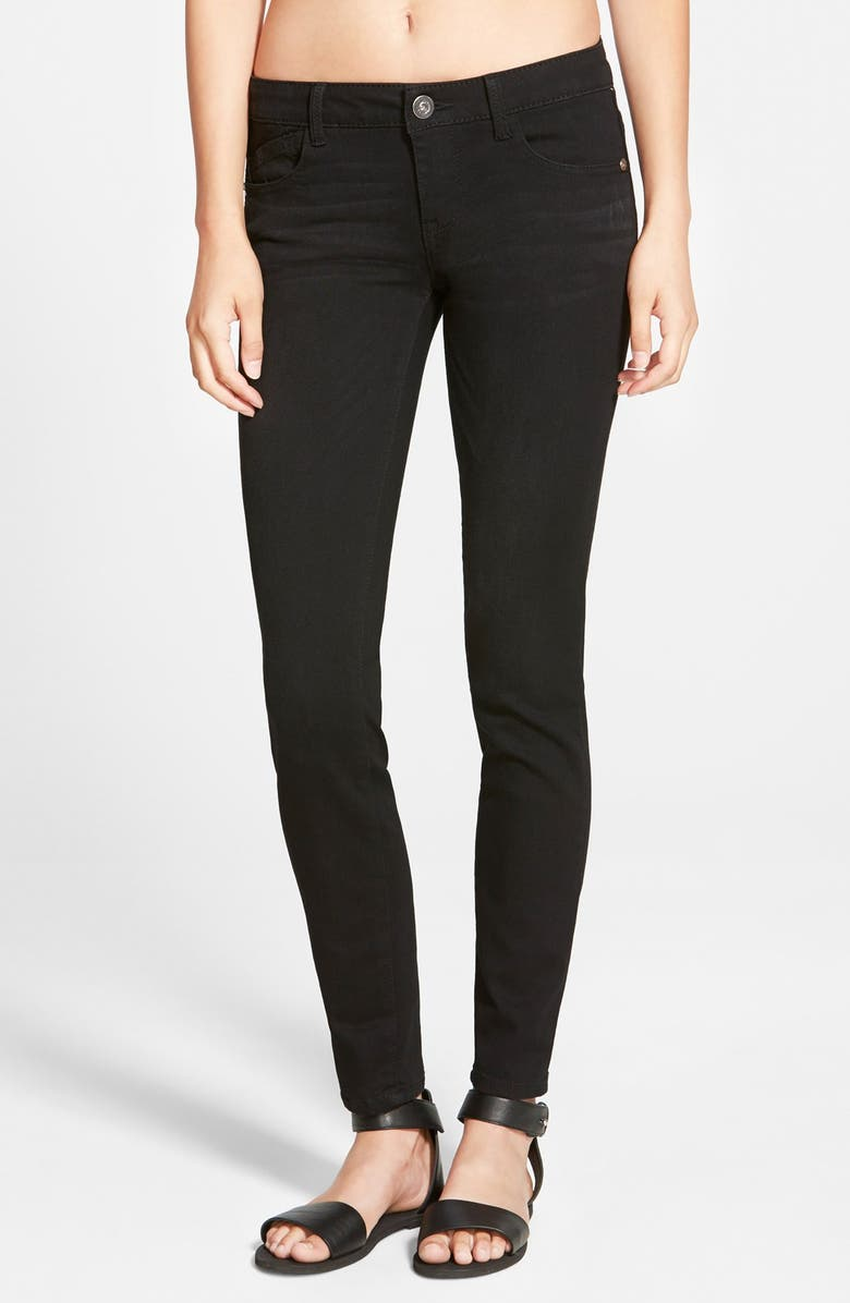 JOLT Stretch Skinny Jeans, Main, color, 001