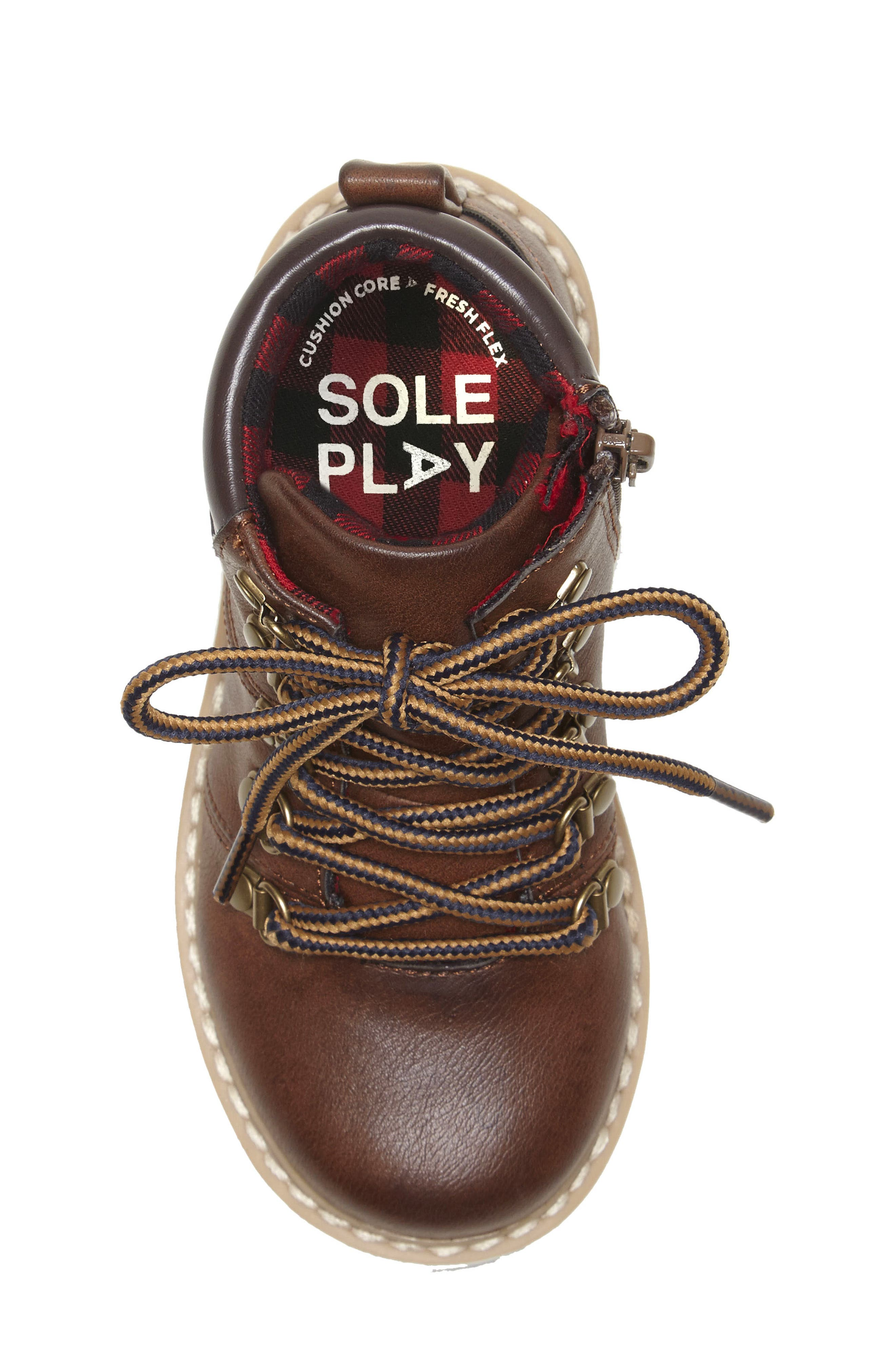 ,                             Aakil Lace-Up Boot,                             Alternate thumbnail 5, color,                             MISTER MAPLE
