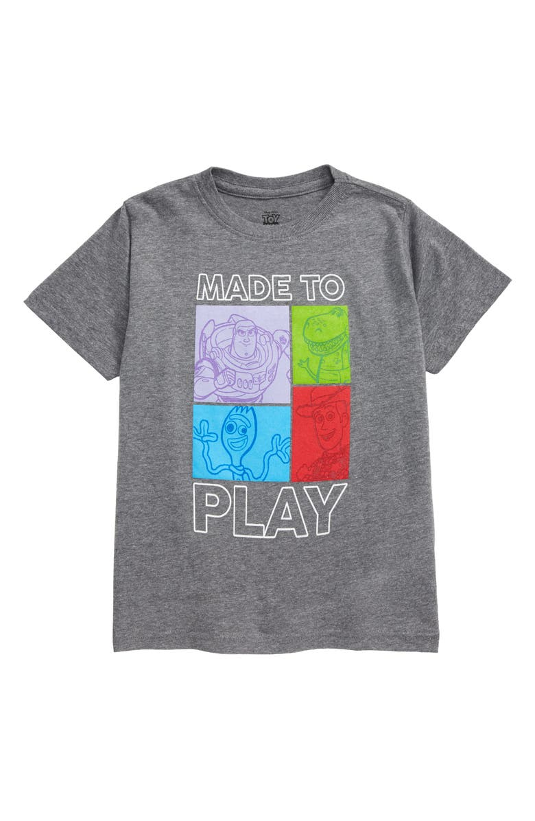 HAPPY THREADS x Disney Toy Story 4 Made to Play Graphic T-Shirt, Main, color, 020