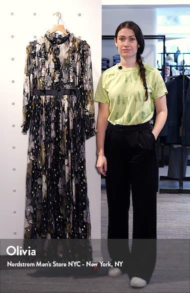 Hunnie Opal Long Sleeve Maxi Dress, sales video thumbnail