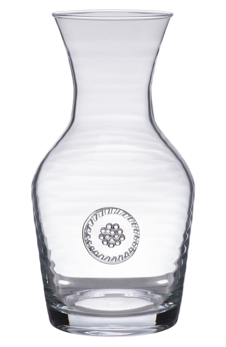 JULISKA Berry & Thread Wine Carafe, Main, color, CLEAR