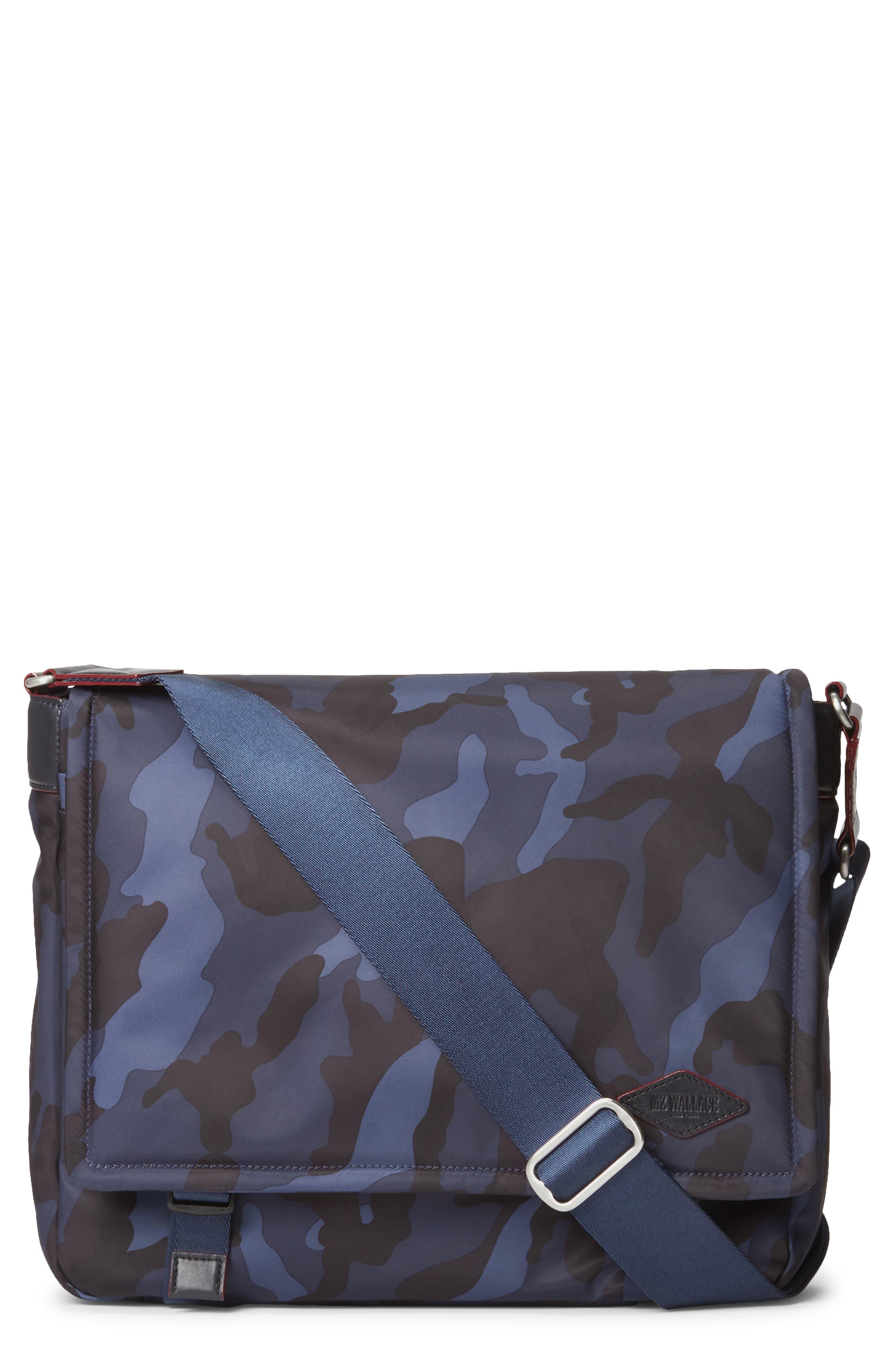 Mz Wallace Bleecker Nylon Messenger Bag - Blue