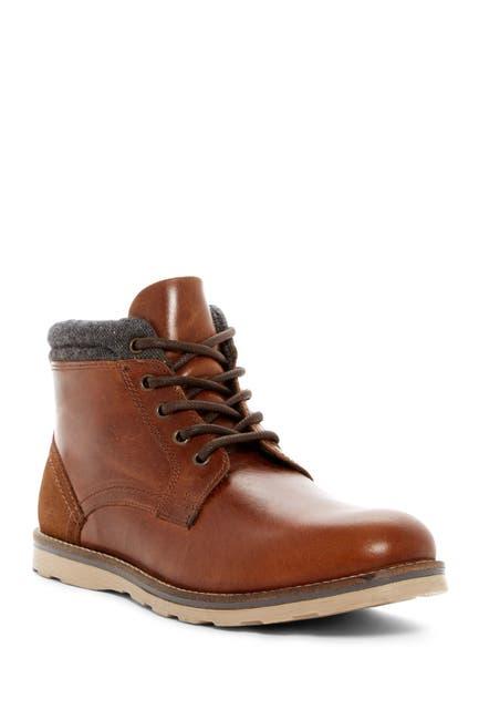 Image of Crevo Geoff Leather & Wool Boot