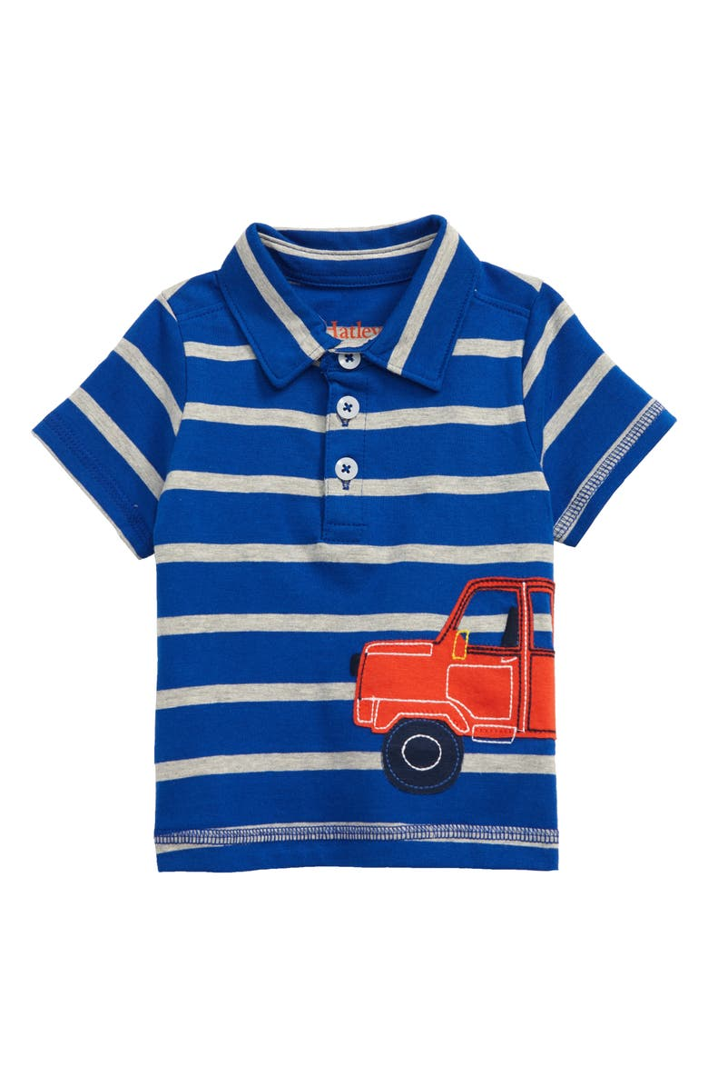 HATLEY Pickup Truck Polo, Main, color, BLUE