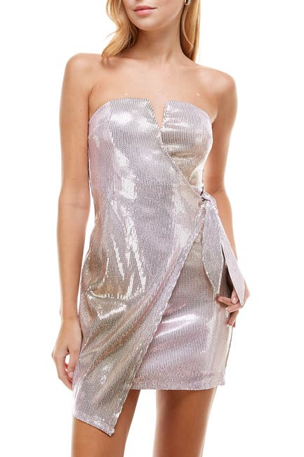 Image of ROW A V-Wire Sequin Dress
