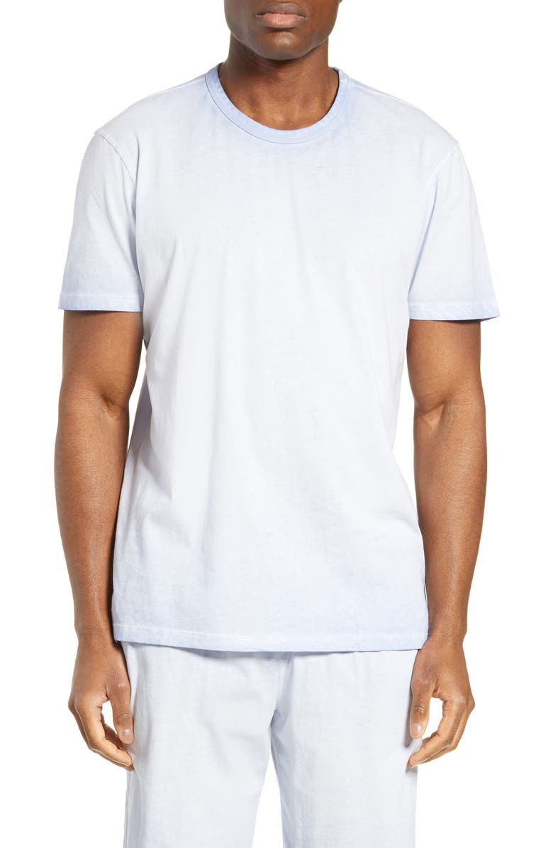 DANIEL BUCHLER Washed Cotton Crewneck T-Shirt, Main, color, 401