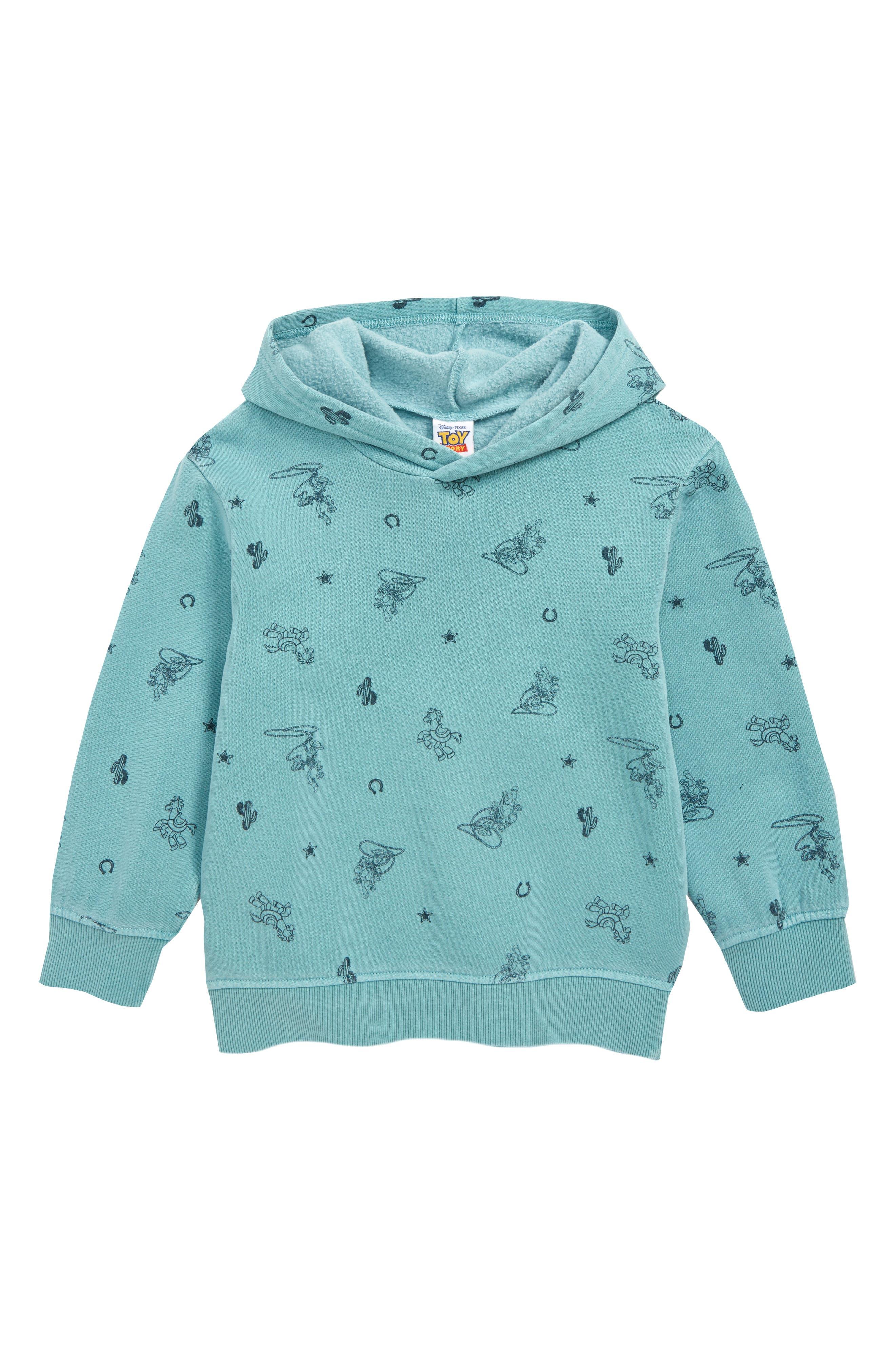 Boys Jem Woody  Bullseye Print Hooded Sweatshirt