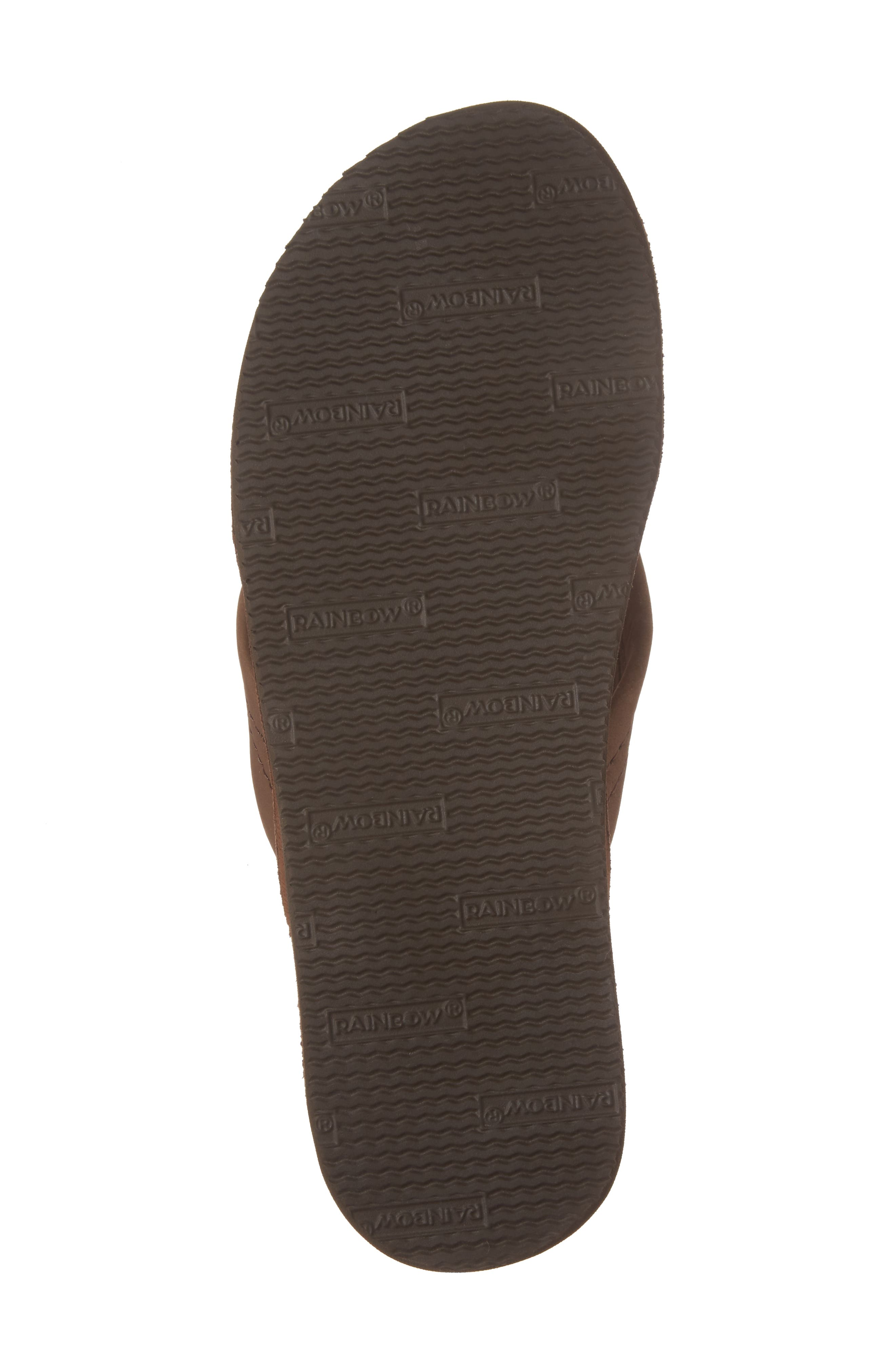 ,                             Rainbow Leather Sandal,                             Alternate thumbnail 6, color,                             EXPRESSO