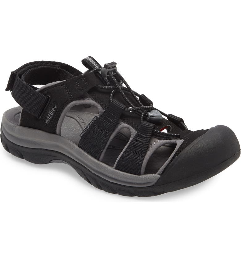 KEEN Rapids H2 Sandal, Main, color, BLACK/ STEEL GREY
