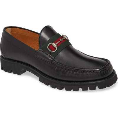 Gucci Bit Lug LoaferUS / 6.5UK - Black