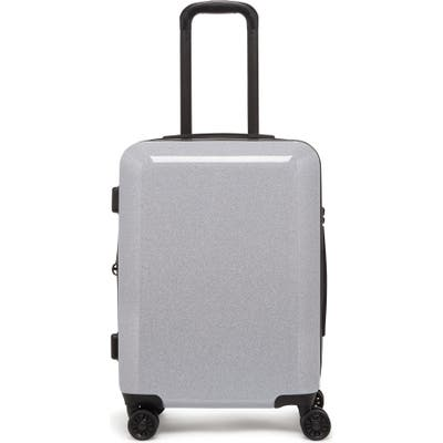 Calpak Medora Glitter 20-Inch Hard Side Spinner Carry-On Suitcase - Metallic
