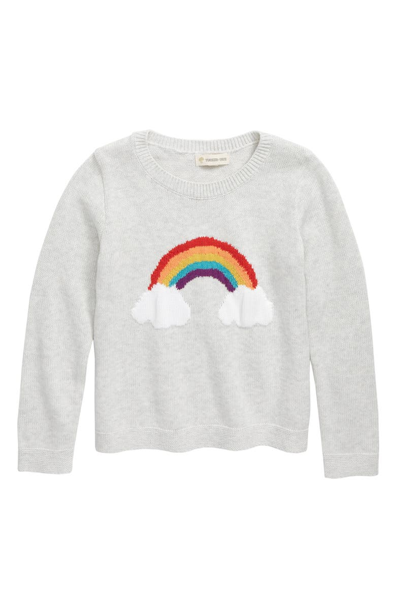 Rainbow Icon Instarsia Sweater by Tucker + Tate