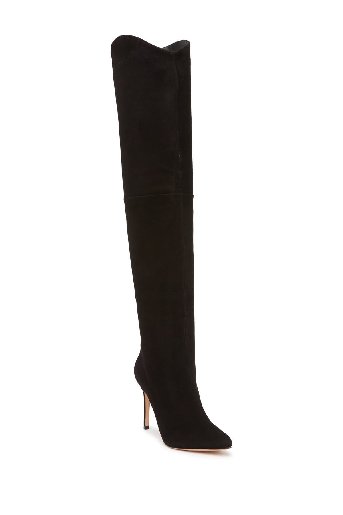 Image of Schutz Anamaria Suede Over the Knee Boot