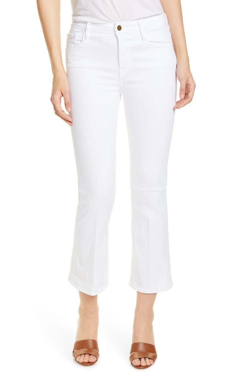 FRAME Le Crop Mini Bootcut Jeans, Main, color, 100