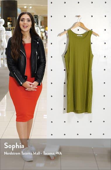 Mel Ribbed Body-Con Minidress, sales video thumbnail