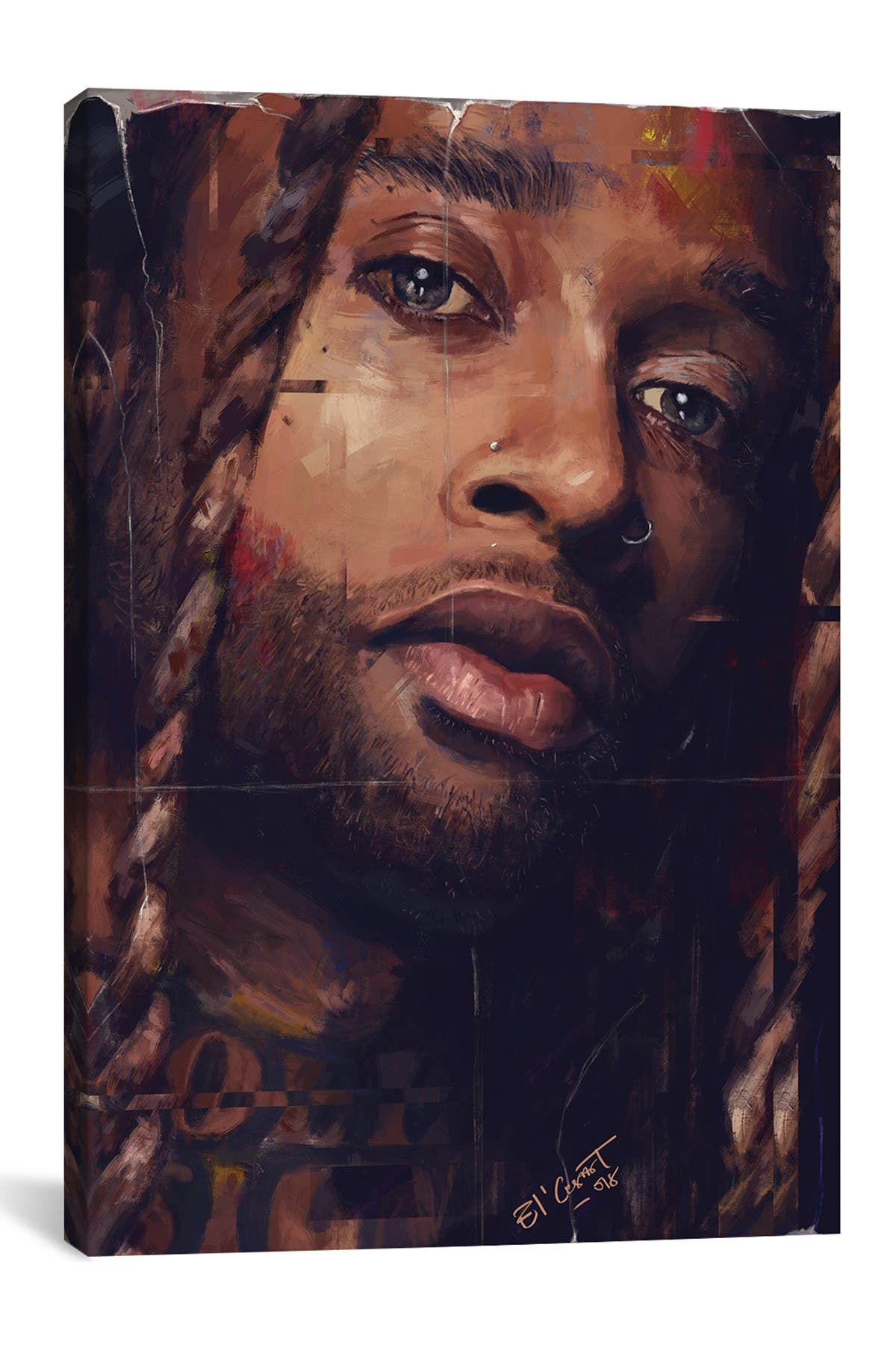 Image of iCanvas Ty Dolla $ign by El'Cesart