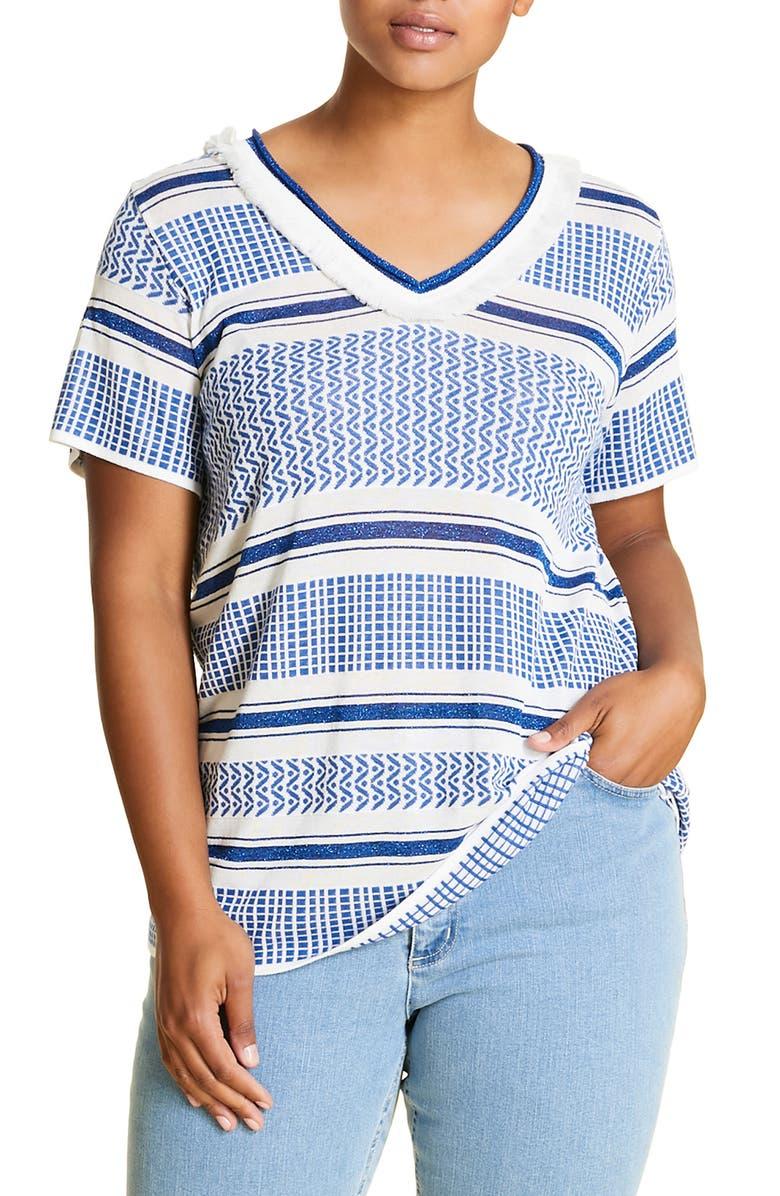 MARINA RINALDI Aiaccio Sweater, Main, color, BLUETTE