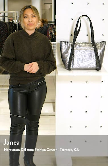 Miki East/West Leather Tote, sales video thumbnail