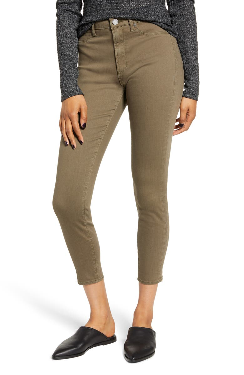 ARTICLES OF SOCIETY Heather High Waist Crop Jeggings, Main, color, 300