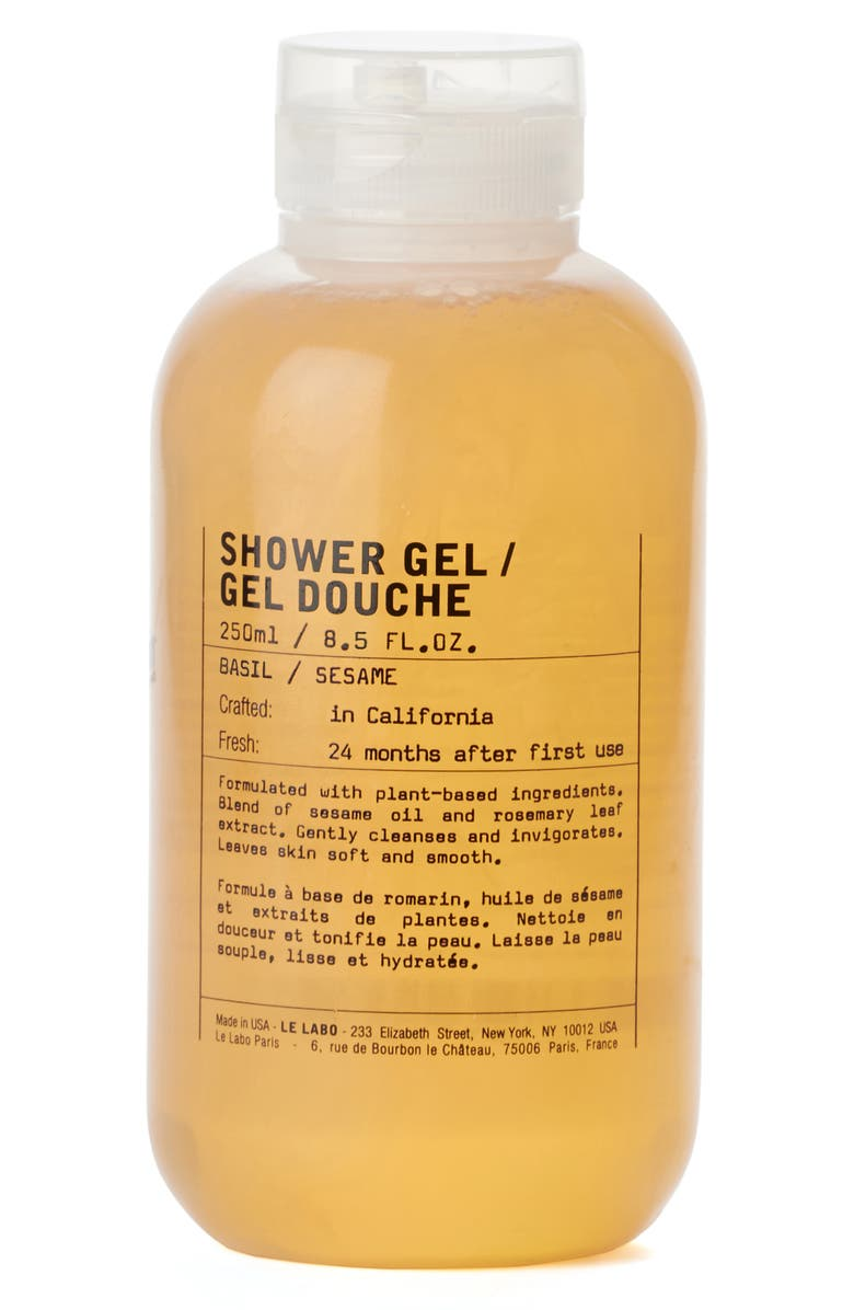 LE LABO Shower Gel Basil, Main, color, NO COLOR