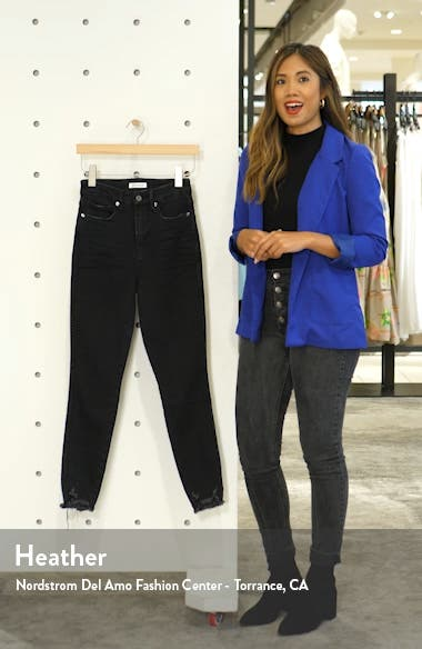 Good Curve High Waist Crop Skinny Jeans, sales video thumbnail
