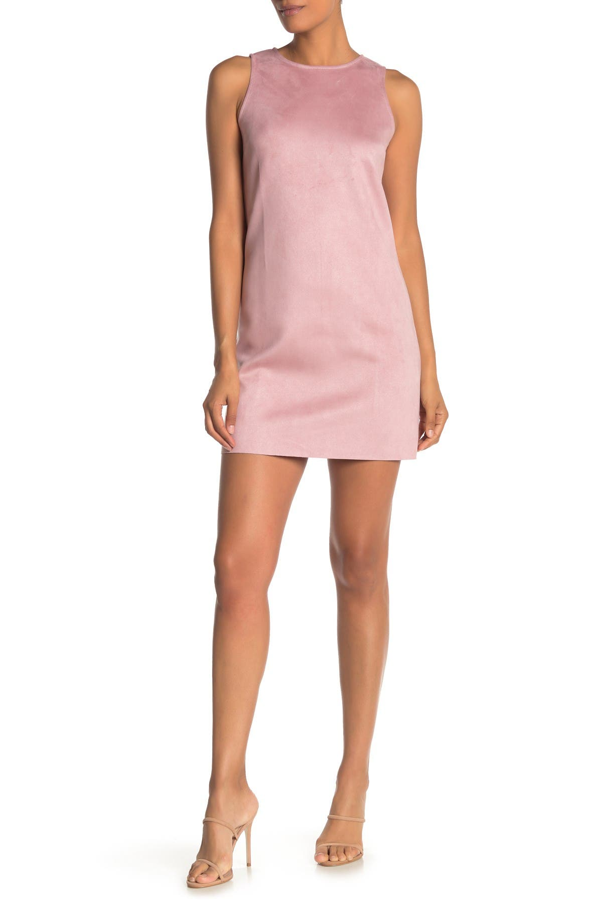 Image of Love...Ady Faux Suede A-Line Shift Dress