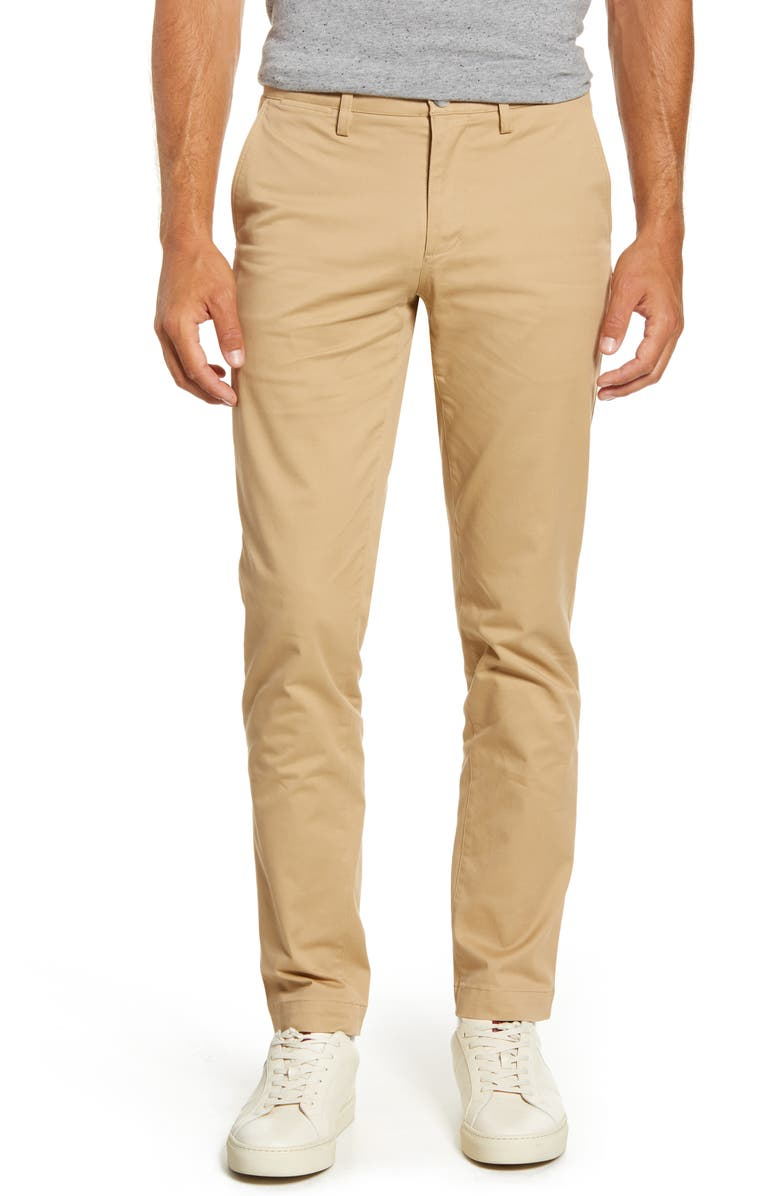 LACOSTE Slim Fit Chinos, Main, color, 200