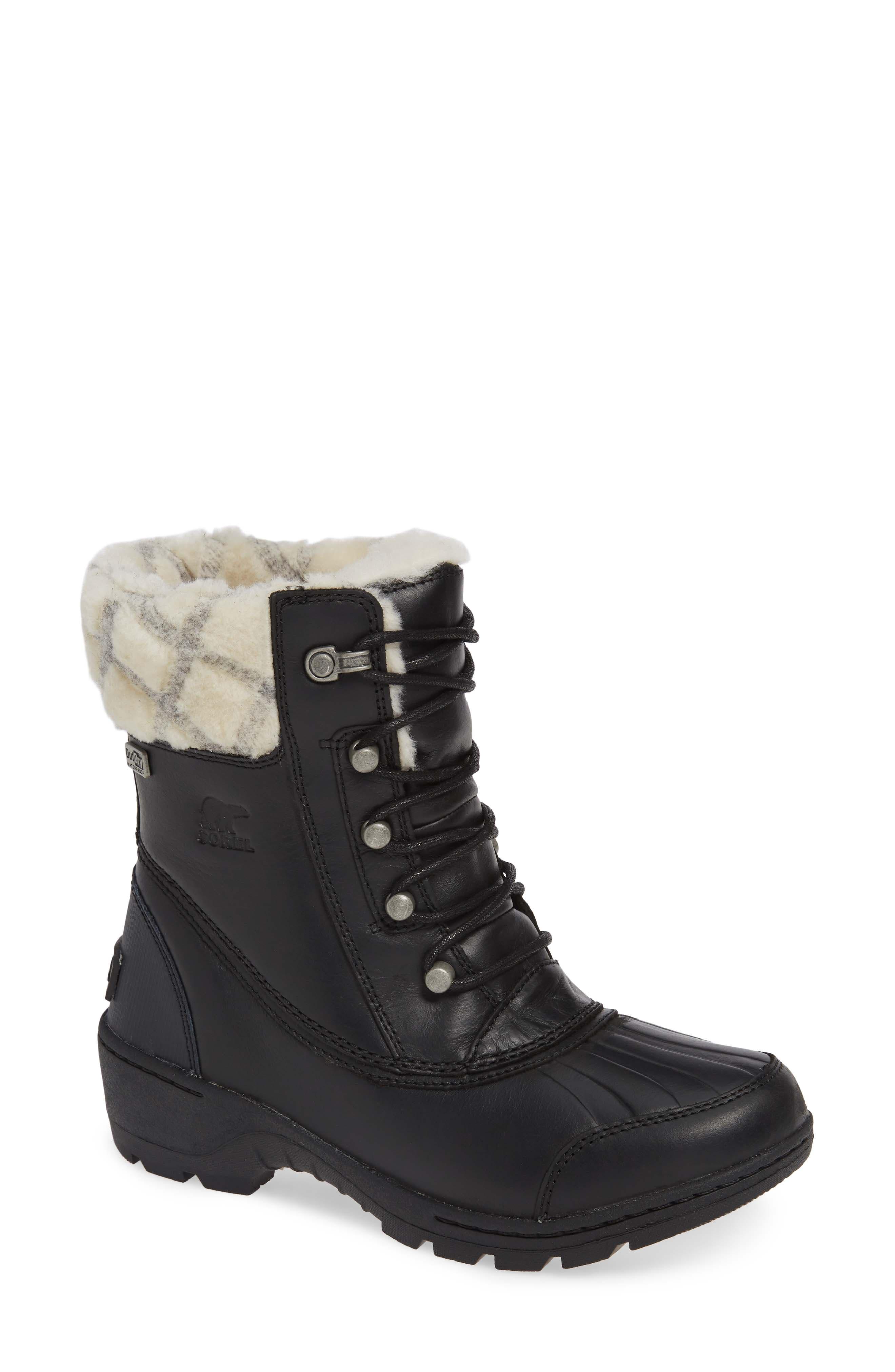 Sorel Whistler(TM) Waterproof Insulated Boot- Black