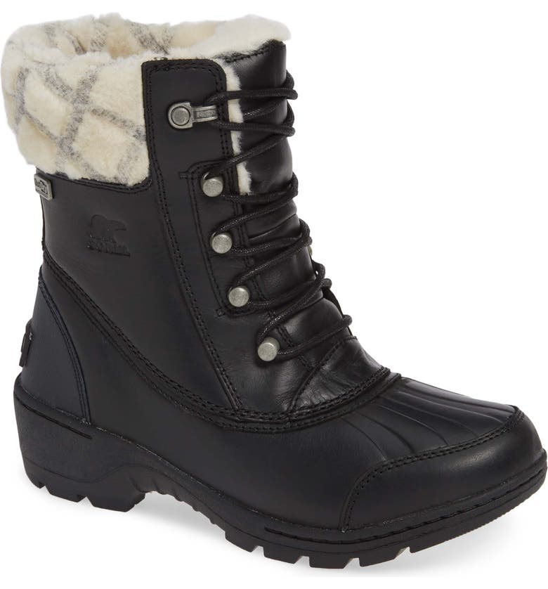 SOREL Whistler<sup>™</sup> Waterproof Insulated Boot, Main, color, 011