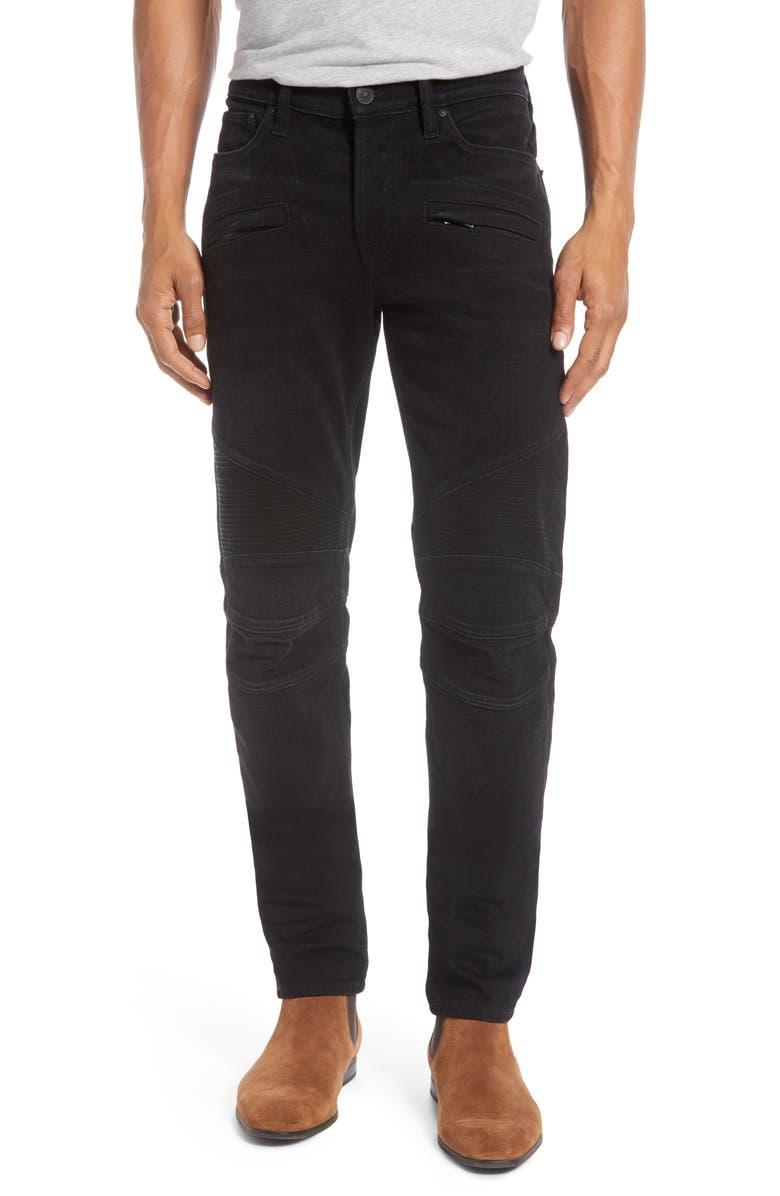HUDSON JEANS Blinder Skinny Fit Biker Jeans, Main, color, 400