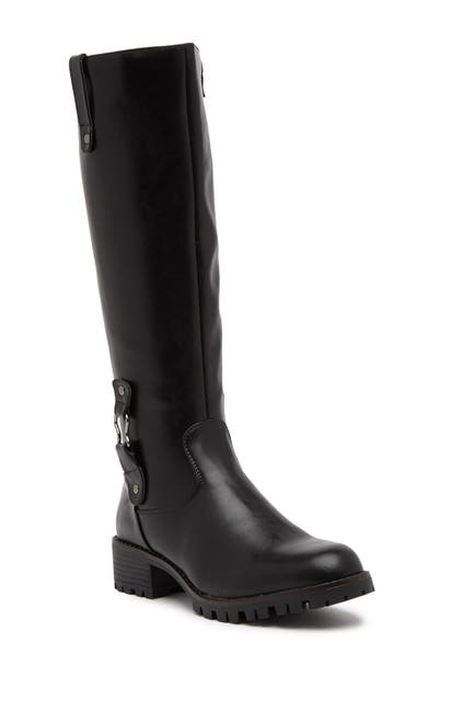Image of Aquatherm by Santana Canada Betty Waterproof Faux Fur Lined Knee-High Boot
