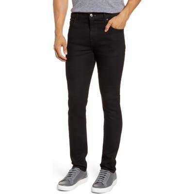 7 For All Mankind Adrien Slim Tapered Leg Jeans, Black