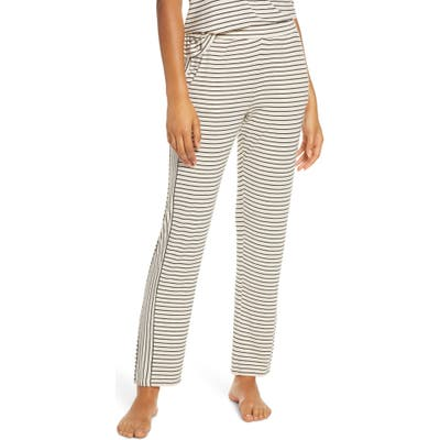 Eberjey Vega Not So Basic Pajama Pants, Ivory