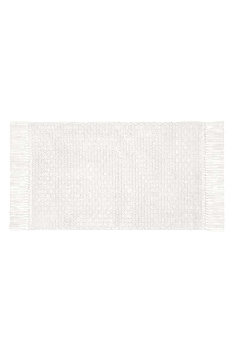 UGG<SUP>®</SUP> Voula Cotton Bath Mat, Main, color, SNOW