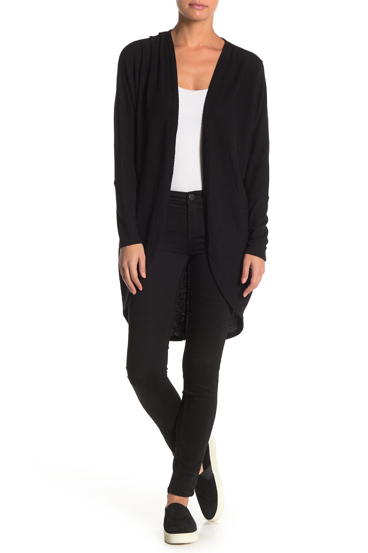 Image of Abound Ribbed Knit Cozy Dolman Cardigan