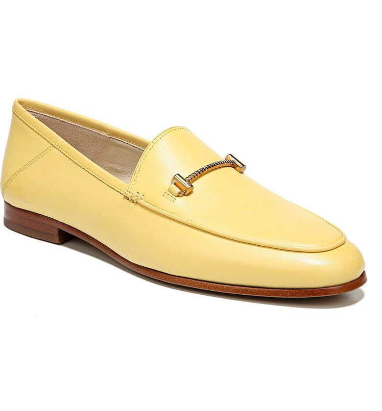 SAM EDELMAN Lior Loafer, Main, color, HONEYDEW LEATHER