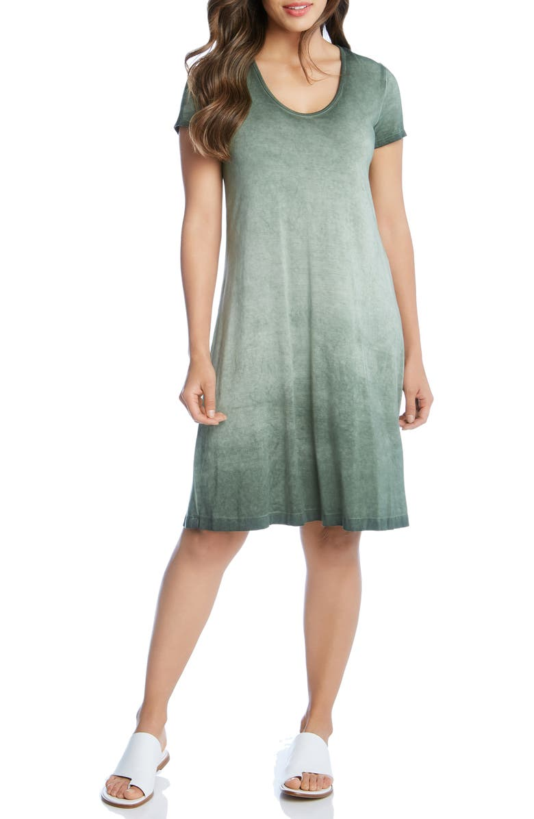 KAREN KANE Olivia T-Shirt Dress, Main, color, PAG