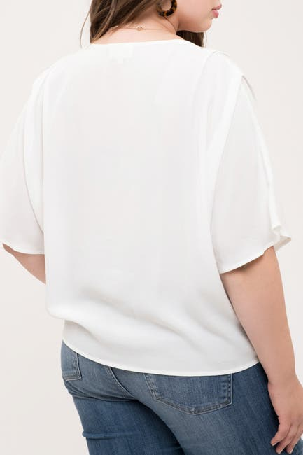 Image of Perch by Blu Pepper Button-Down Top