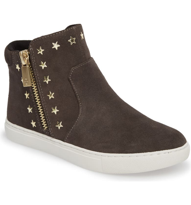 KENNETH COLE NEW YORK 'Kiera' Zip High Top Sneaker, Main, color, 020