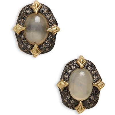 Armenta Old World Petal Stud Earrings