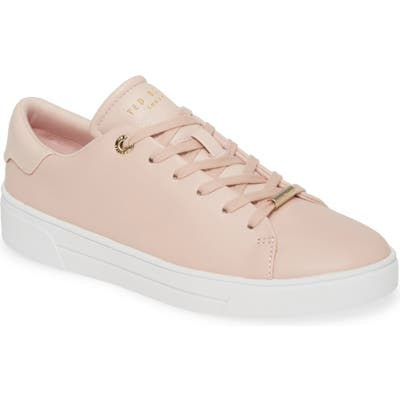 Ted Baker London Indre Low Top Sneaker, Pink