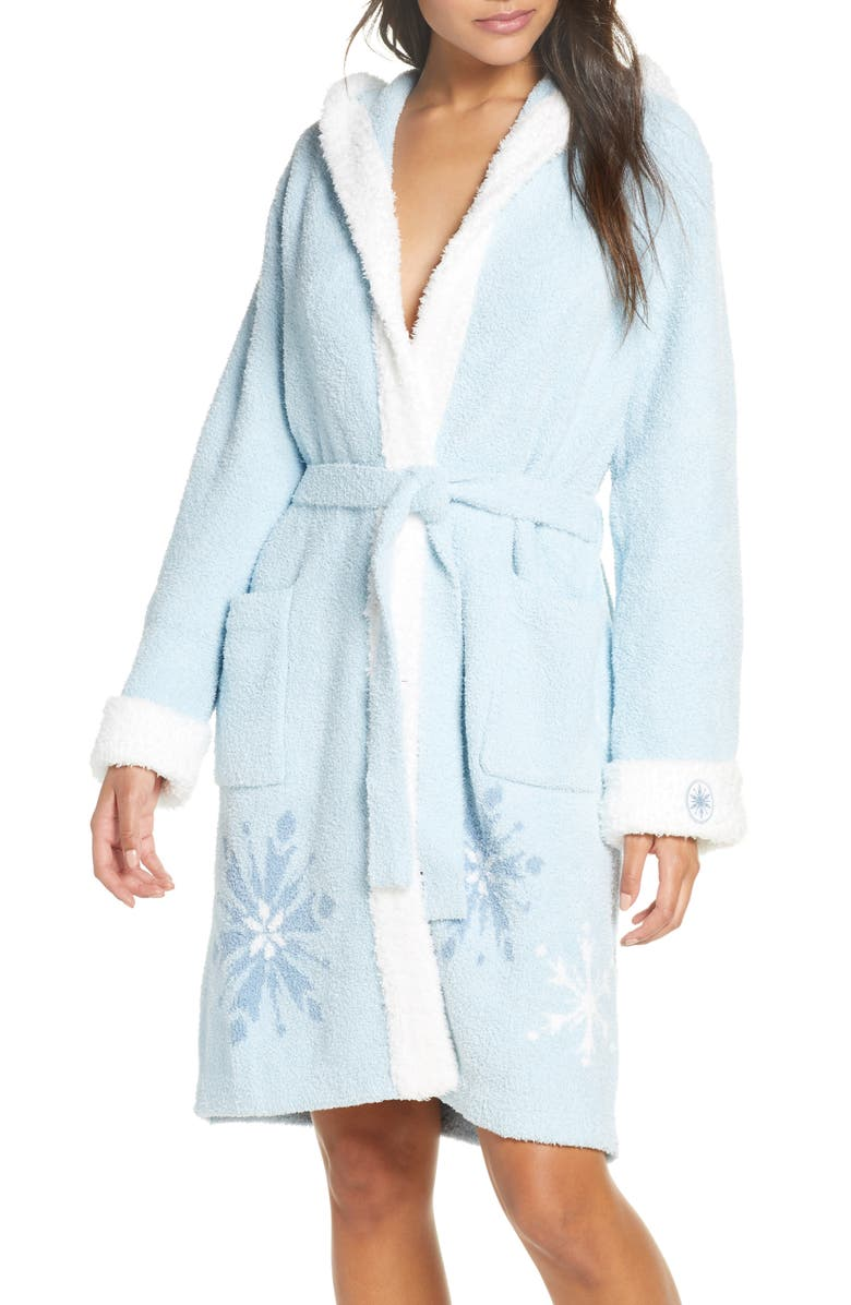 BAREFOOT DREAMS<SUP>®</SUP> CozyChic<sup>™</sup> Disney Frozen Hooded Robe, Main, color, 400