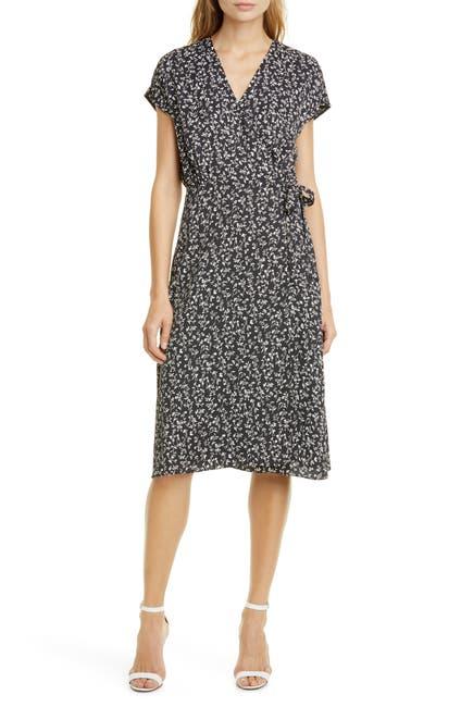Image of Joie Bethwyn Floral Wrap Dress