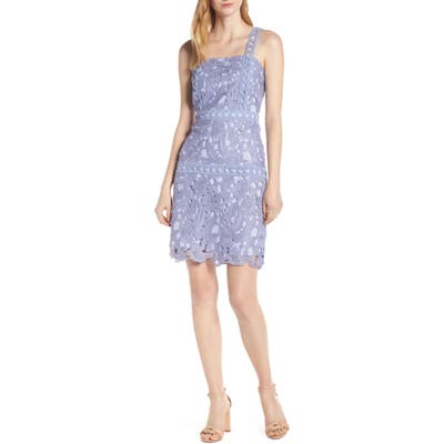Sam Edelman Lace Sheath Dress, Purple
