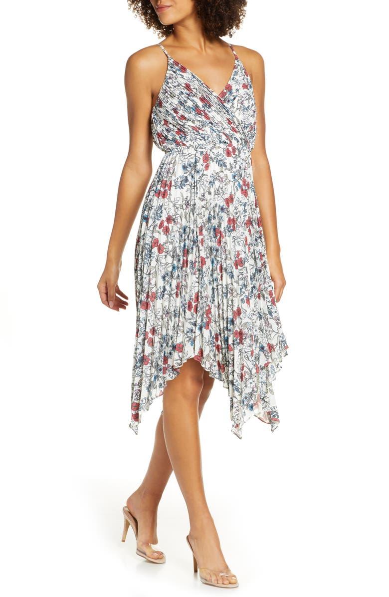 ALI & JAY Bay Club Sleeveless Midi Dress, Main, color, MULTI FLORAL